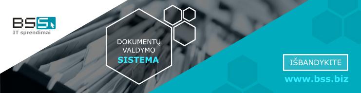 Išbandyti Dokumentų valdymo sistemą
