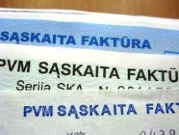 PVM Sąskaitų faktūrų rekvizitai